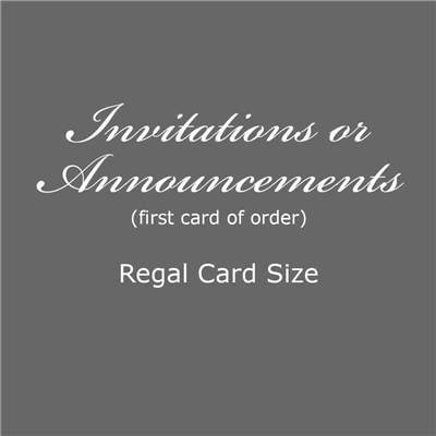 Invitation - Regal