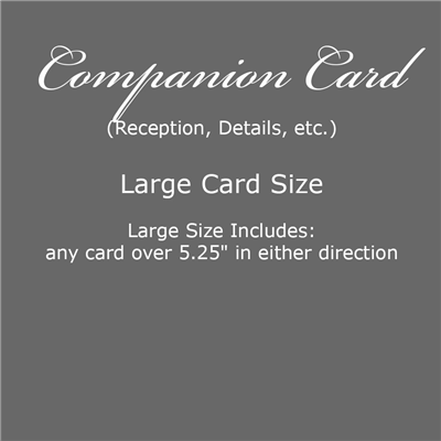 Companion Card - Large