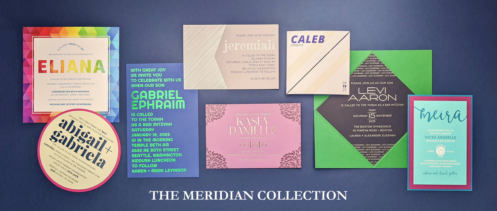 Click here to view the new Meridian Collection